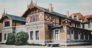 Vodoléčebný ústav v Lázních Kyselka, rok 1901